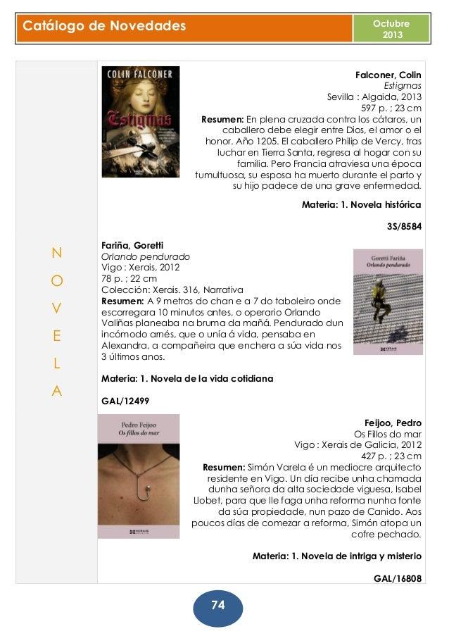 Bolet n de dvd y m sica octubre 2013 biblioteca p - Telefono casa del libro vigo ...
