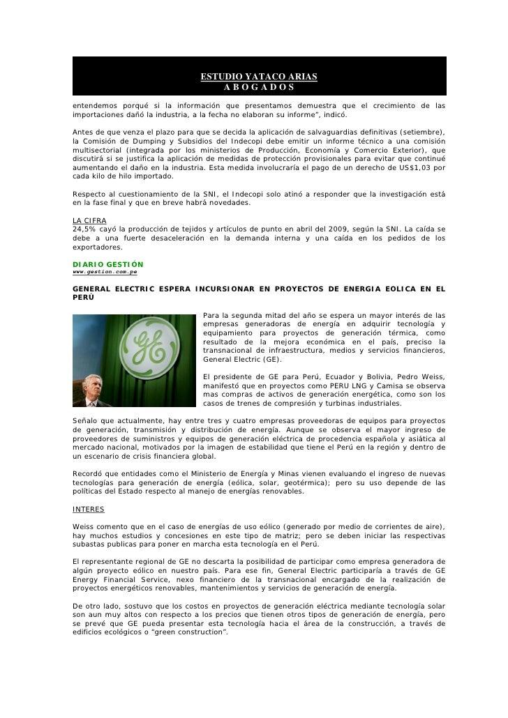 BoletíN Informativo   24 Junio 2009   Banca, Finanzas Y Mercado De Capitales Slide 3