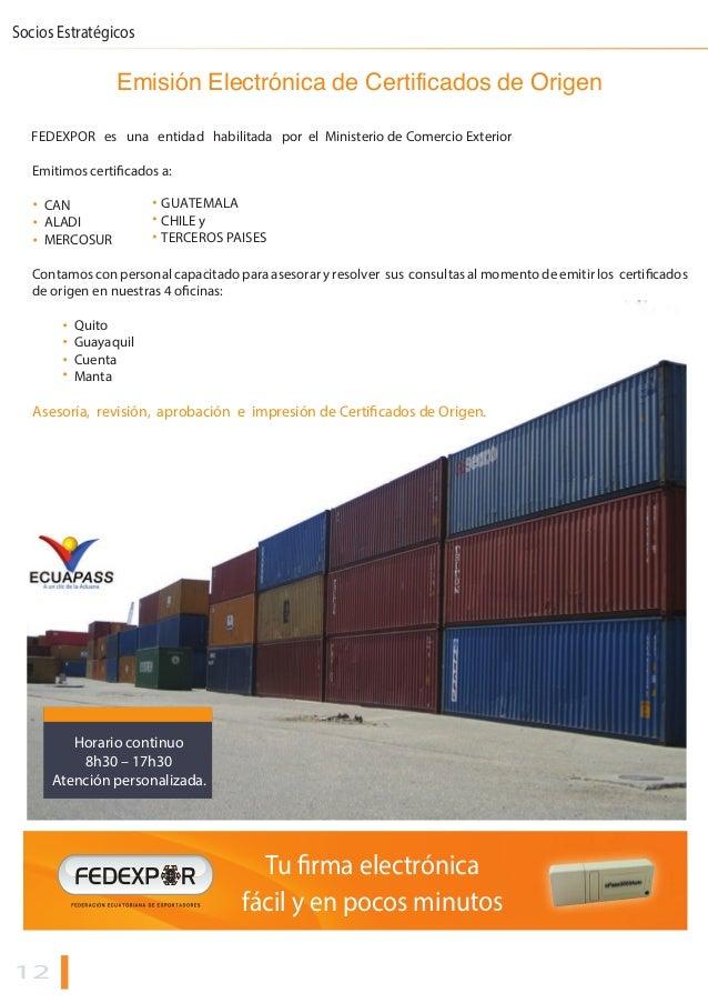 Informativo mensual de comercio exterior fedexpor enero2015 for De comercio exterior