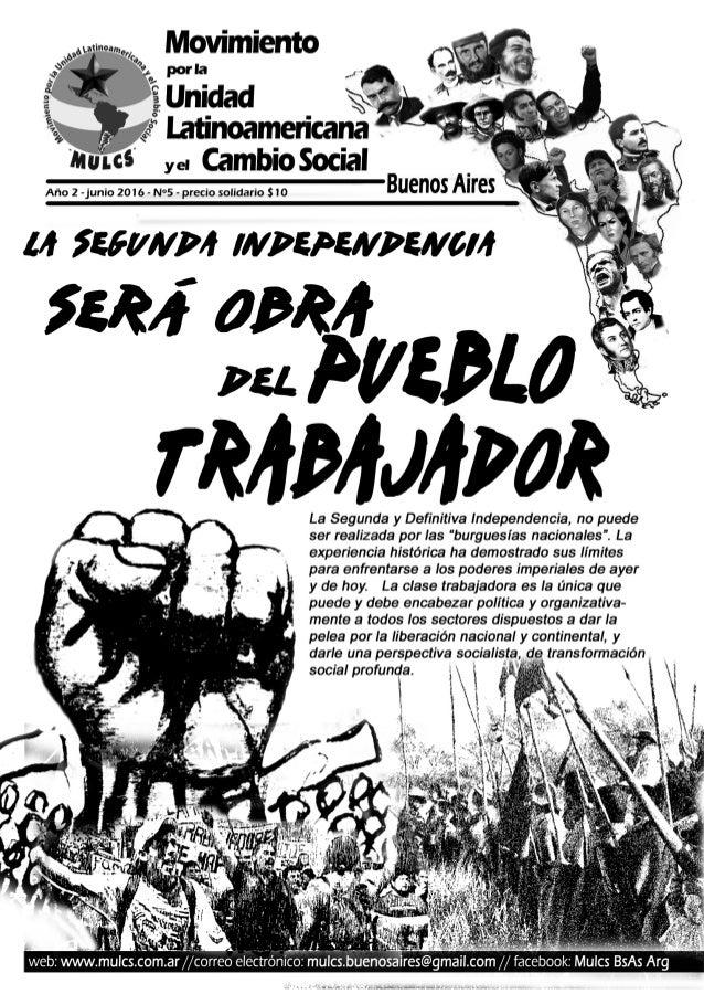 Frenar el ajuste Construir organización popular D esde que comenzó el Go- bierno de Cambiemos, el poder político y económi...