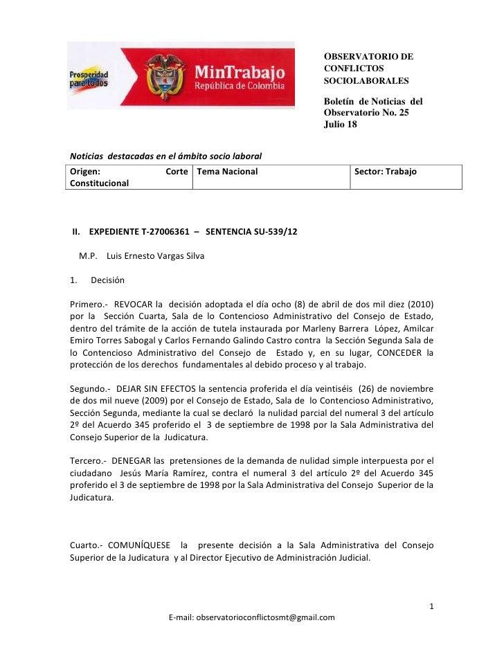 OBSERVATORIO DE                                                                 CONFLICTOS                                ...