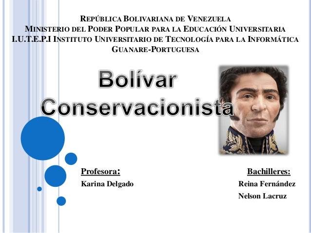 REPÚBLICA BOLIVARIANA DE VENEZUELA MINISTERIO DEL PODER POPULAR PARA LA EDUCACIÓN UNIVERSITARIA I.U.T.E.P.I INSTITUTO UNIV...