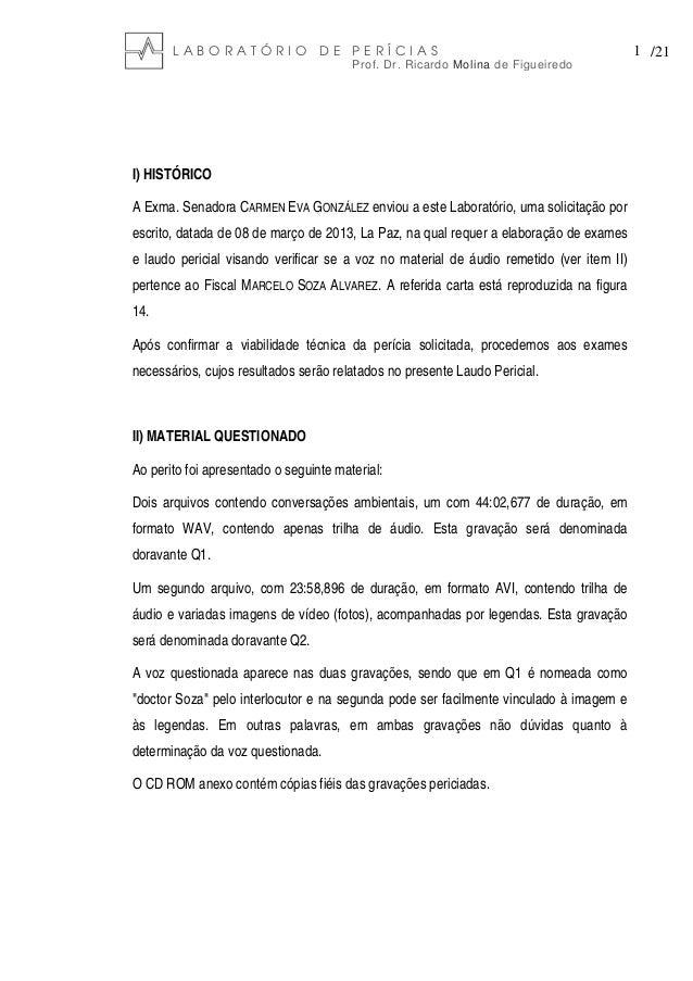LABORATÓRIO DE PERÍCIAS                                                            1 /21                                  ...