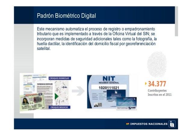 Presentaci n bolivia curso de formaci n sobre gesti n de for Oficina empadronamiento
