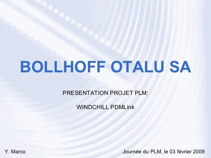 Les bonnes pratiques PLM chez BOLLHOFF OTALU