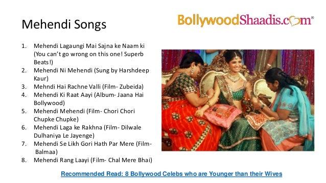 Best Bollywood Songs For Wedding 2