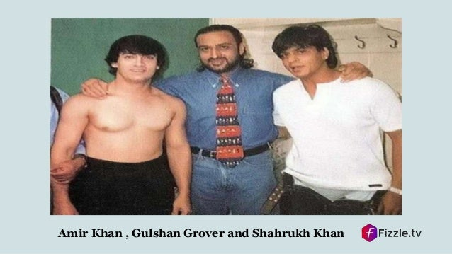 Image result for shahrukh aamir gulshan grover