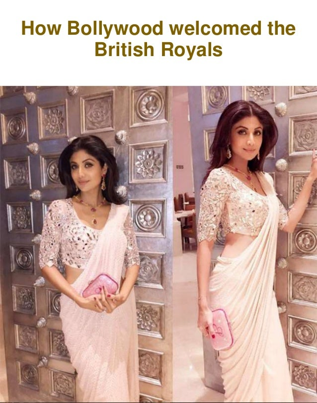 How Bollywood welcomed the British Royals