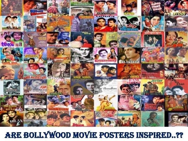 Are Bollywood Movie Posters Inspired..??