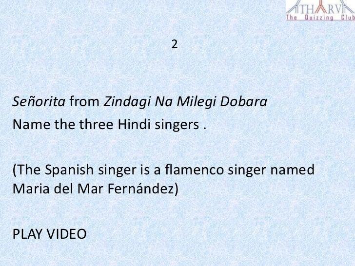 Bollywood quiz answers