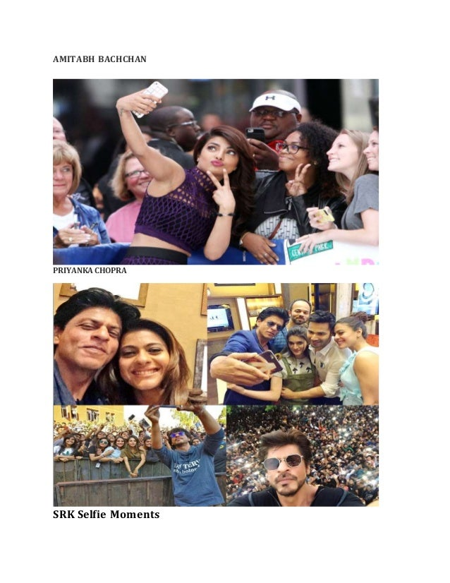 bollywood star selfies you should not miss