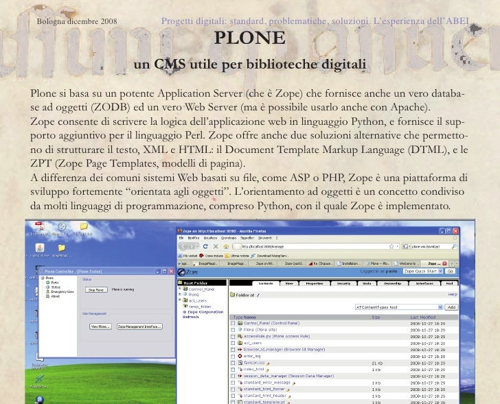 Digital library for librarians - Biblioteca digitale per bibliotecari.