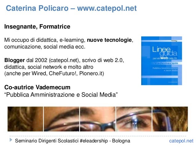 Insegnante, Formatrice Mi occupo di didattica, e-learning, nuove tecnologie, comunicazione, social media ecc. Blogger dal ...