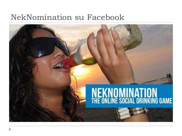 NekNomination su Facebook