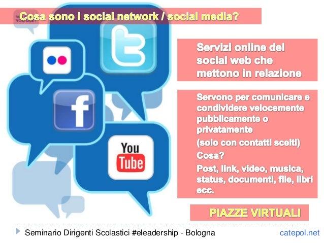 catepol.netSeminario Dirigenti Scolastici #eleadership - Bologna