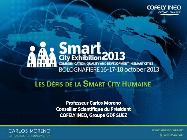 LES DÉFIS DE LA SMART CITY HUMAINE