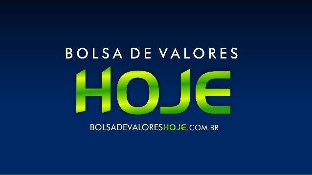 Bolsa de Valores hoje fechou com apenas 35,62% das Ações listadas na Bovespa em ALTA.