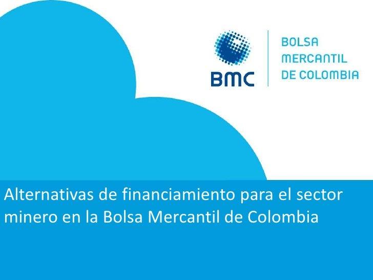 Bolsa mercantil colombiana
