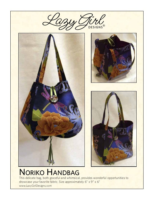 ® NORIKO HANDBAG This delicate bag, both graceful and whimsical, provides wonderful opportunities to showcase your favorit...