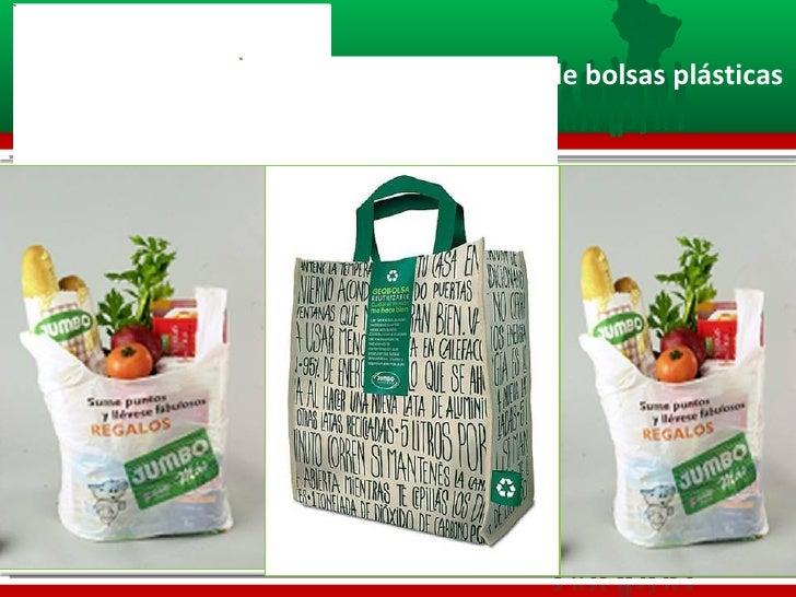 Concientización de uso de bolsas plásticas
