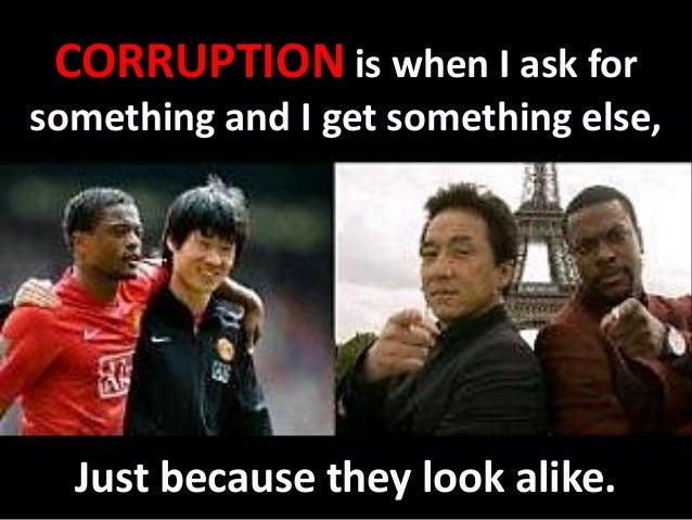 Corruption free leadership  Slide 3