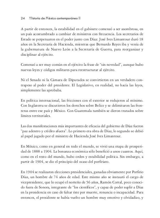 Bol historia m for Caracteristicas de los contemporaneos