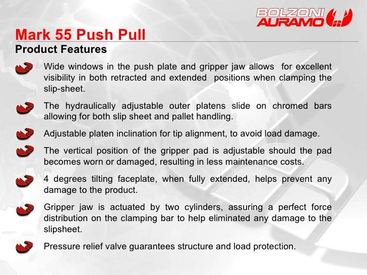 Mark 55 Push Pull Product Features Wide windows in the push plate and gripper jaw allows  for excellent visibility in both...