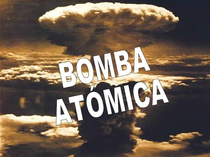 BOMBA ATÓMICA www. laboutiquedelpowerpoint. com