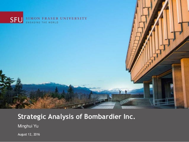 an analysis of bombardier Bombardier, inc : trading strategies, financial analysis, commentaries and investment guidance for bombardier, inc share | toronto stock.