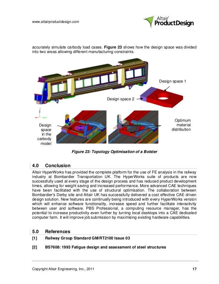Bombardier Transportation - Fast Tracking Rail Vehicle Design