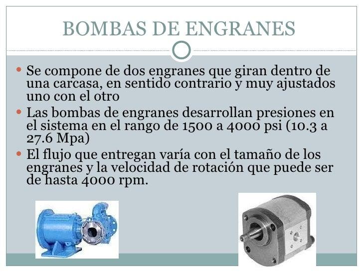 Tipos de bombas eléctricas
