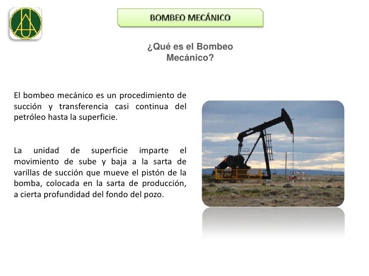 Bombeo mecanico. presentacion. Slide 2
