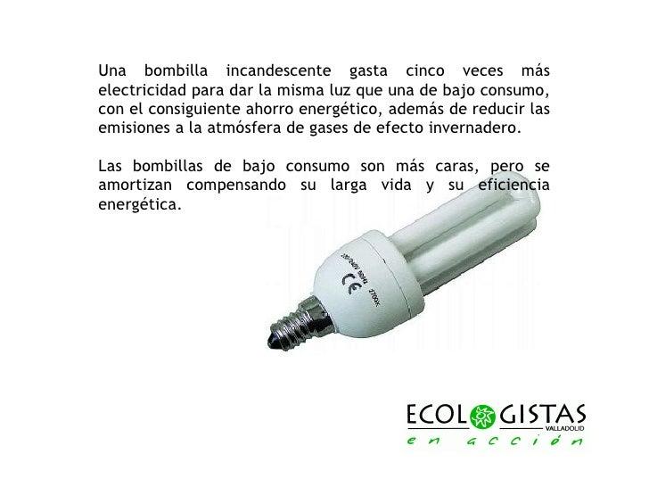 Bombillas de bajo consumo y mercurio for Bombillas bajo consumo