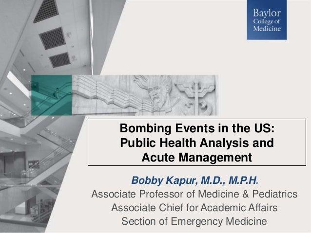 Bobby Kapur, M.D., M.P.H. Associate Professor of Medicine & Pediatrics Associate Chief for Academic Affairs Section of Eme...
