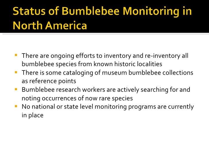 Bumblebee Roadside Surveys:  A Pilot Survey and Recommendations Slide 3