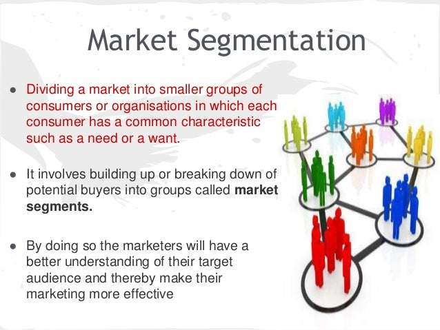 advantages of market segmentation Market segmentation using the results of market research and market segmentation have important advantages over.