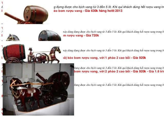 THÔNG TIN CHI TIẾT SẢN PHẨMBom làm từ gỗ mít, loại bom này dùng đựng được cho bịch vang từ 3 đến 5 lít. Khi quí khách dùng...
