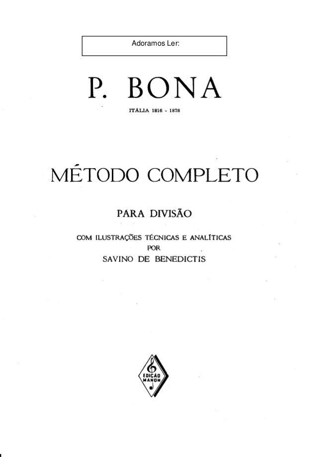 bona metodo musical