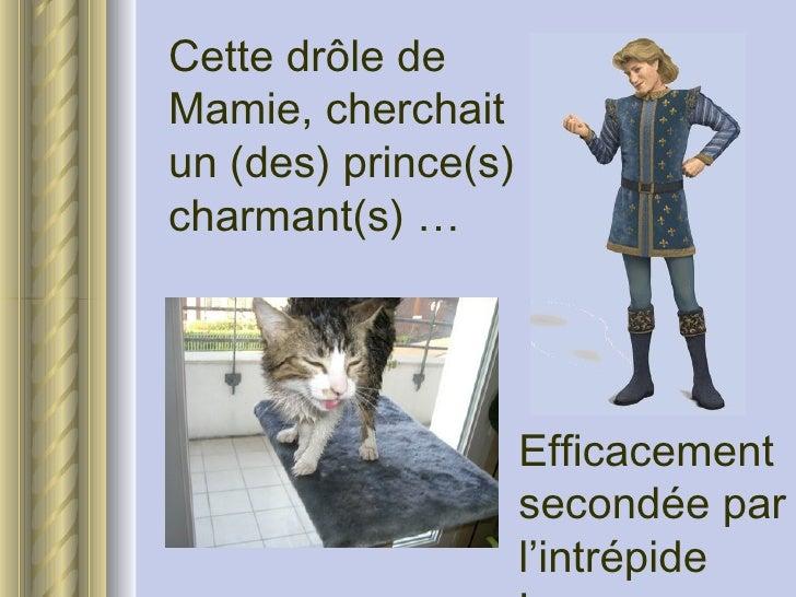 <ul><li>Cette drôle de Mamie, cherchait un (des) prince(s) charmant(s) … </li></ul>Efficacement secondée par l'intrépide L...