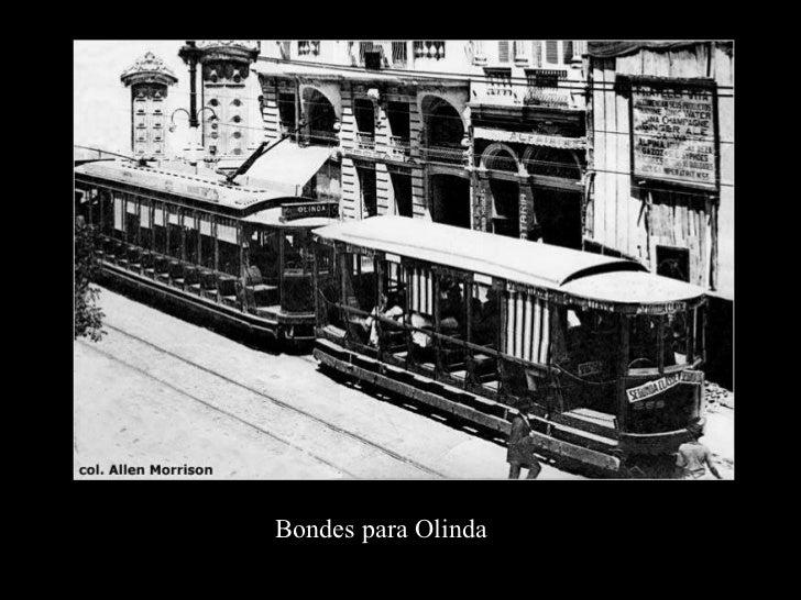 Bondes para Olinda