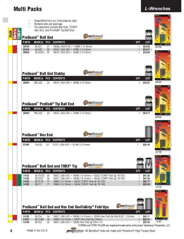 "7//16/"" Tip Dia 12.5/""Long Hex Ball ScrewDriver ProGuard™ Finish Bondhus USA 10615"