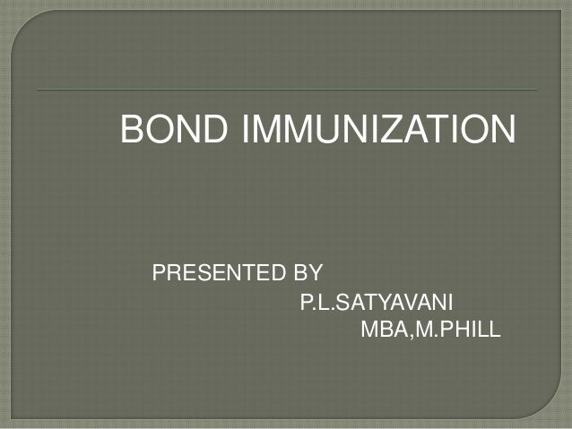 ma6620 advanced actuarial science bond immunization