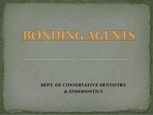 DEPT. OF CONSERVATIVE DENTISTRY & ENDODONTICS 1