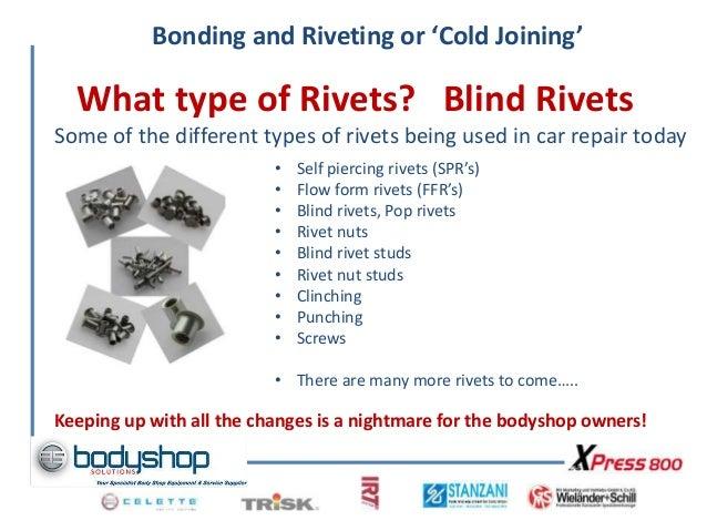 Aircraft Rivet Types : Bonding and riveting dec