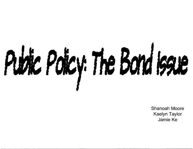 bond issue