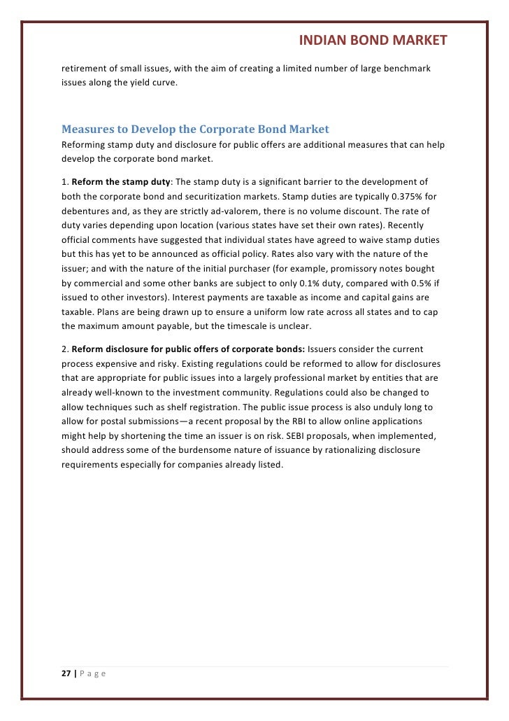 bond market research paper 15042014  the research department of the international organization of securities commissions today published a staff working paper entitled corporate bond markets.