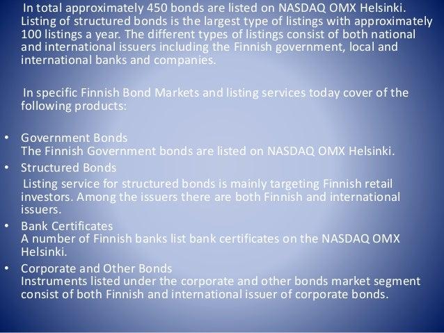 Bond market in finland