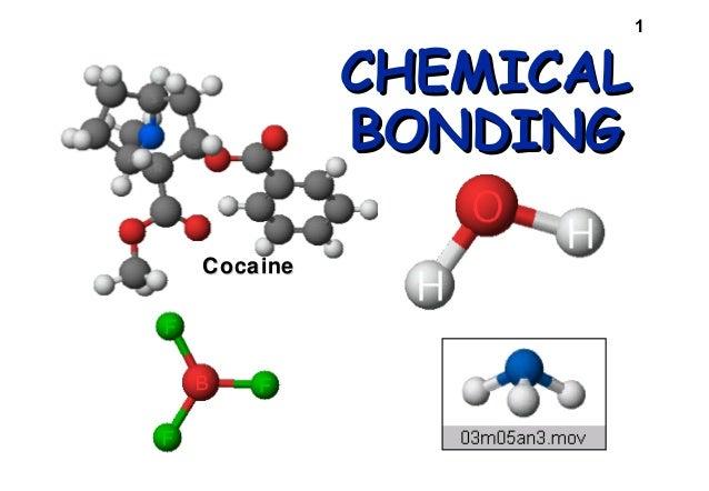 CHEMICAL BONDING Cocaine  1