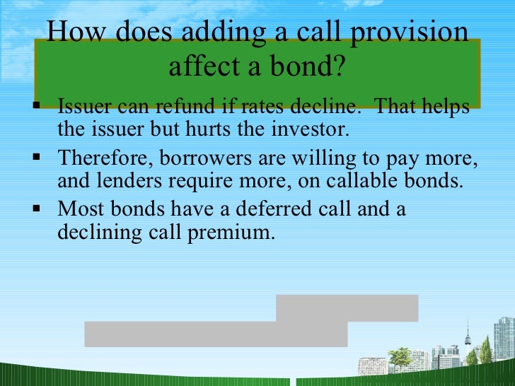 finance bonds and their valuation To calculate the semi-annual bond payment, take 2% of the par value of $1,000,   you compare different bonds to find the best choices for your financial needs.