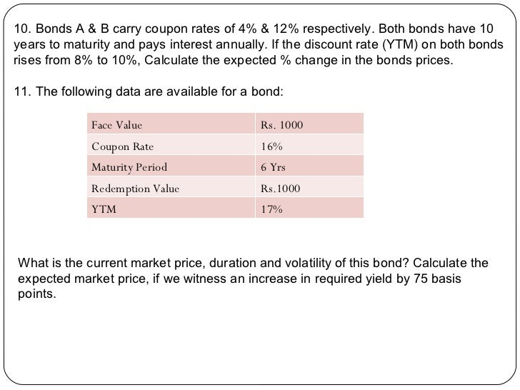 What is the bond's annual coupon rate